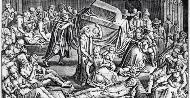 La plaga de Justiniano acabó con 50 millones de personas en todo el mundo a lo largo de los siglos VI y VII.
